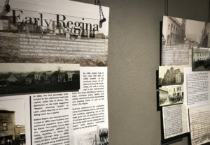 Early Regina Interpretive Panels
